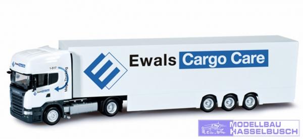 "Scania R TL Kofferdoppelstock-Sattelzug ""Ewals Cargo Care"" (NL)"