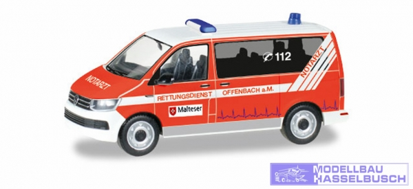 VW T6 Bus Malteser Offenbach