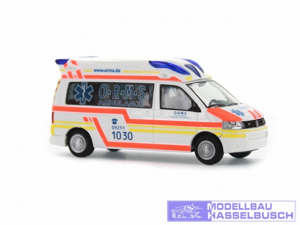 VW T5 Hornis Baltic O-R-M-S Rettungsdienst Münchberg