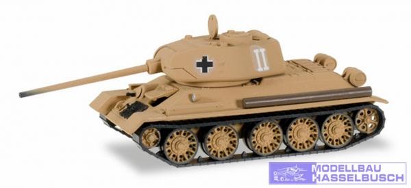 Beutepanzer T34/85 Ostpreusen