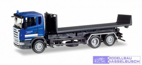 Scania R´04 AbrflatLKW THW El