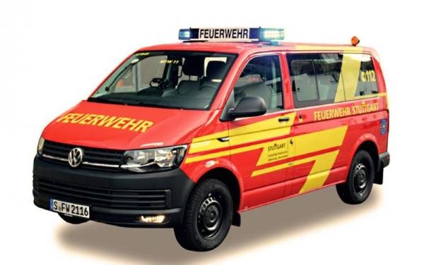 VW T6 Feuerwehr Stuttgart