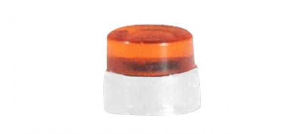Zubehör flache Rundumleuchten für LKW, orangetransparent