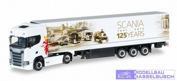 """Scania CS20 Kühlkoffer-Sattelzug """"125 Jahre Scania"""""""