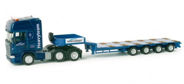 "Scania R TL Semitieflade-Sattelzug ""Heavyteam"" (A)"