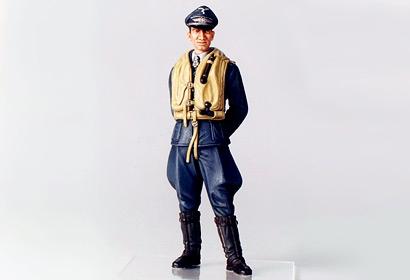 1:16 WWII Figur Dt.Luftwaffe