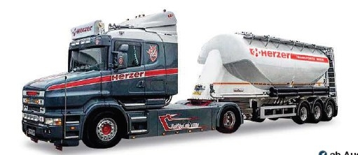 Scania Hauber Eutersilo-SZ – Herzer (A)