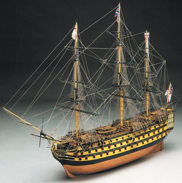 HMS Victory Baukasten 1:200