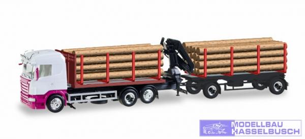 Scania Holztransporter unbedr.