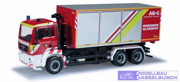 """MAN TGA Abrollcontainer-LKW """"Feuerwehr Gladbeck"""""""