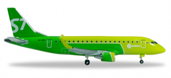 S7 Airlines Embraer E170 - new colors - VQ-BBO