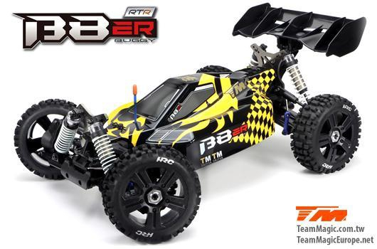 Auto - 1/8 Elektrisch - 4WD Buggy - RTR - 2500kv Brushless Motor - 4S - Wasserdicht - Team Magic B8E