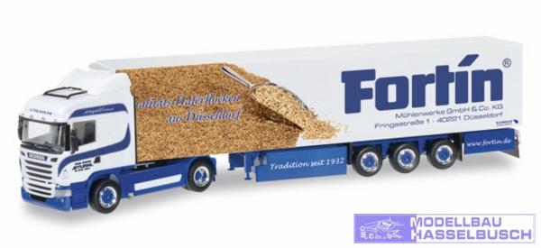 """Scania R HL Kühlkoffer-Sattelzug """"Sturm / Fortin"""""""
