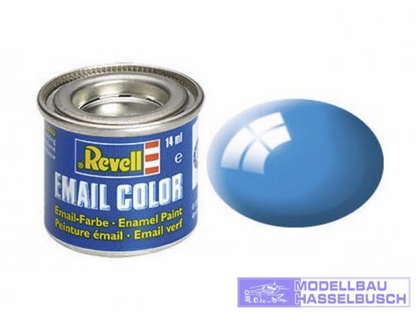 lichtblau, glänzend