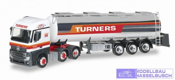 "Mercedes-Benz Actros Streamspace Chromtank-Sattelzug ""Turners"" (GB)"