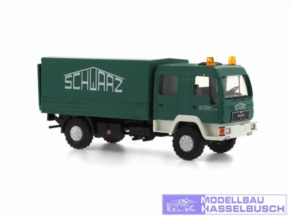 MAN L2000 DoKa Schwarzbau