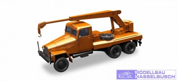 IFA G5 Kranfahrzeug orange