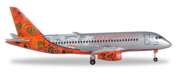 "Aeroflot Sukhoi Superjet SSJ-100 ""90th Anniversary"" - RA-89009"