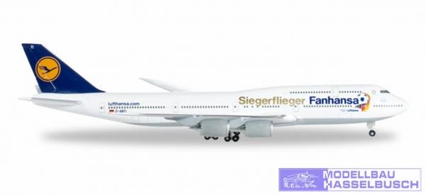 B747-8 LH Fanhansa-Siegerflieg