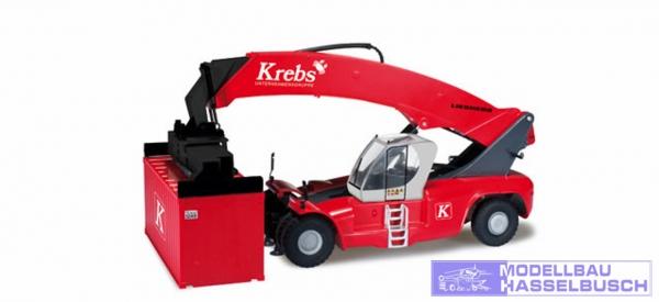 """Liebherr Reachstacker LRS 645 mit drei Containern """"Krebsgruppe"""""""