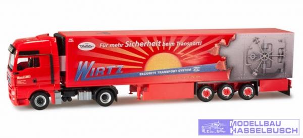"MAN TGX XXL Kühlkoffer-Sattelzug ""Wirtz/Tresor"""