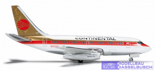 Continental Airlines Boeing 737-100