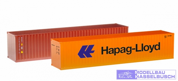 "Container-Set 2x40 ft. ""Hapag Lloyd / TAL"""