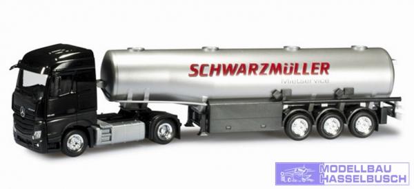 "Mercedes-Benz Actros Streamspace Benzintank-Sattelzug ""Schwarzmüller"""