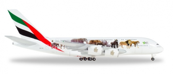A380 Emirates, wildlife