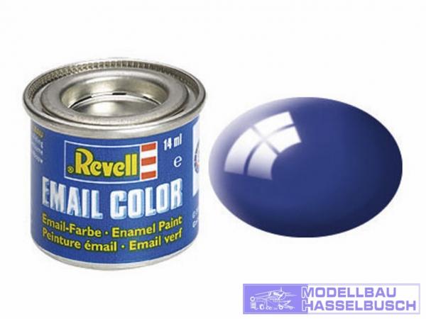 ultramarinblau, glänzend