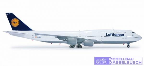B747-8I Lufthansa
