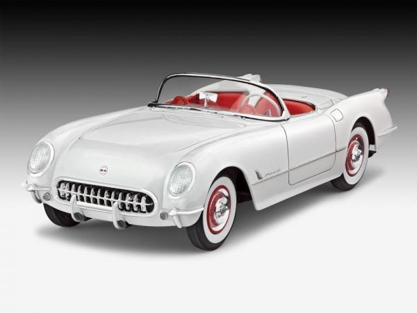'53 Corvette Roadster in 1:25
