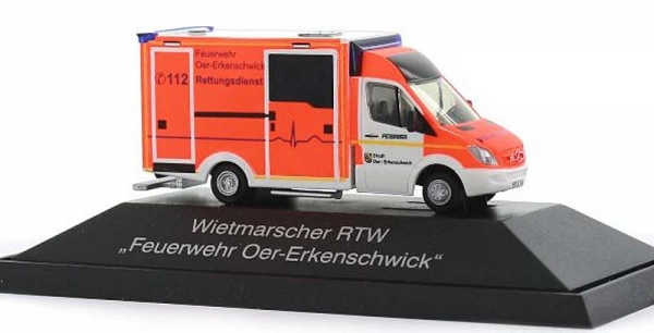 WAS Ambulanzfahrzeuge Design-RTW FW Oer-Erkenschwick