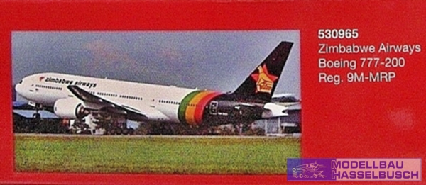 Zimbabwe Airways - Boeing 777-200