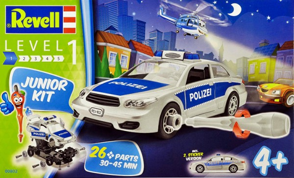 Revell Polizei/ Police Car - Junior Kit