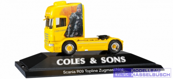 "Scania R TL Zugmaschine ""Coles & Sons"" (GB)"