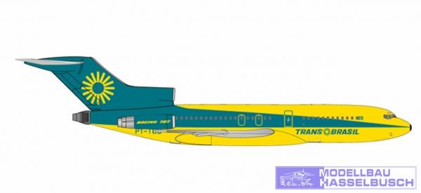 B727-100 TransBrasil PT-TCB
