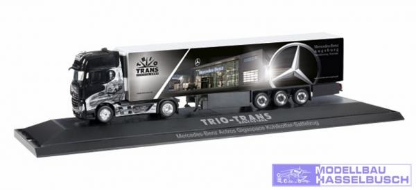 "Mercedes-Benz Actros Gigaspace Kühlkoffer-Sattelzug ""Trio-Trans"""