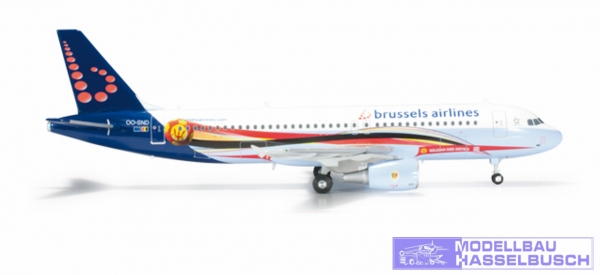 "Brussels Airlines Aibrus A320 ""Red Devils"""