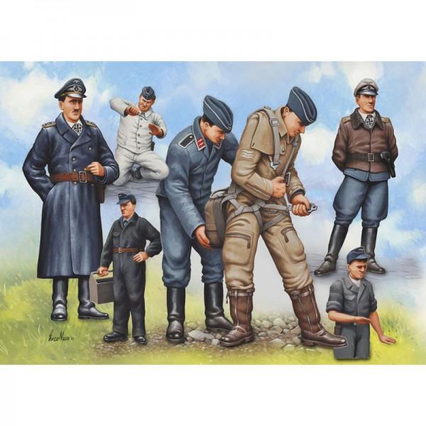 Revell Piloten & Bodenpersonal Luftwaffe WWII