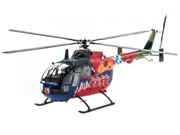 Revell BO 105 Fly Out Painting