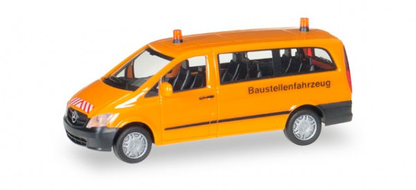 "MB Vito Bus ""Baustellenfhzg"""