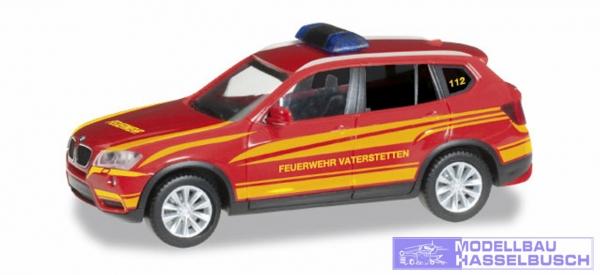 """BMW X3 KdoW(F25)""""FFW Vaterstet"""