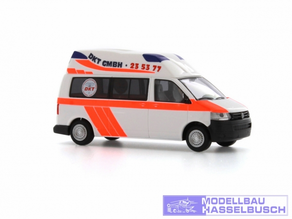 Ambulanz Mobile Hornis Silver `10 DKT Rettungswagen Hamburg