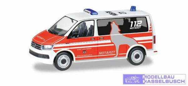 VW T6 Bus Notarzt FW Wolfsbur
