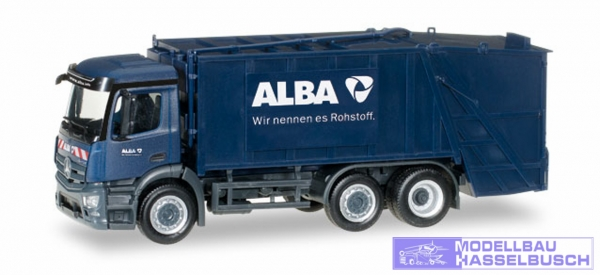 "MB Antos Pressmüllwagen ""ALBA"""