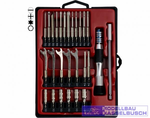 WZS27 - Präzisions Schraub Werkzeuge 27-tlg.