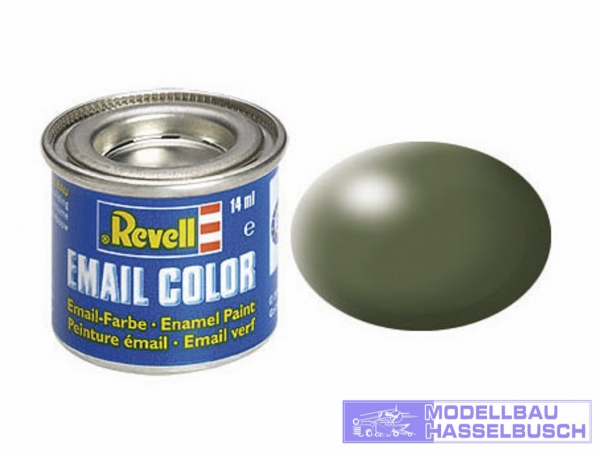 olivgrün, seidenmatt