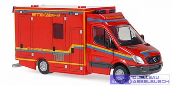 GSF MB Sprinter RTW Feuerwehr TUM München