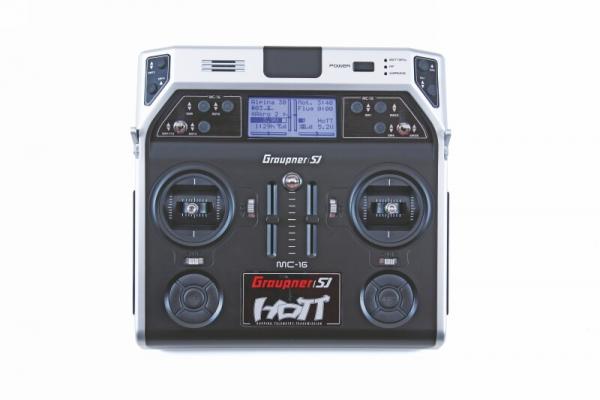 MC-16 HoTT 2.4 GHzFernsteuerung 8 Kan.